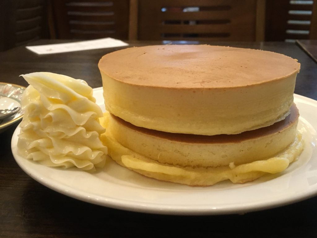 ルポーゼすぎのホットケーキ