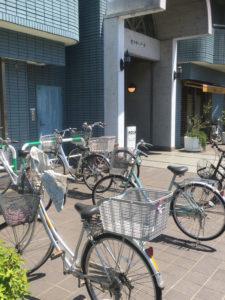AOSAN 仙川 パン 角食 駐輪場