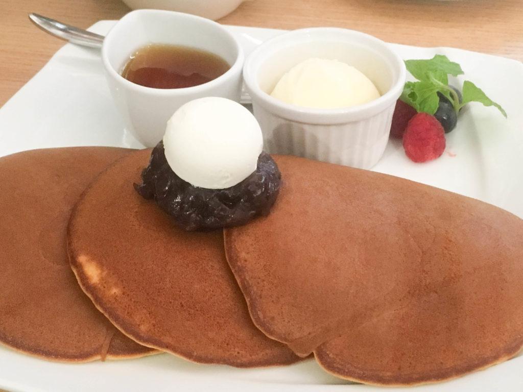 文明堂 カフェ 銀座 どら焼き パンケーキ 和菓子 スイーツ カステラ