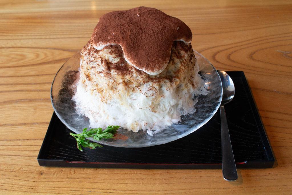 かんな 三軒茶屋 和キッチン Kitchen かき氷 ティラミス 沖縄
