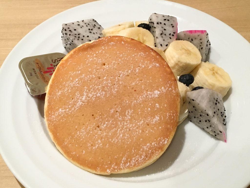 果実園リーベル 新宿 フルーツ モーニング フルーツサンド 果物 パンケーキ