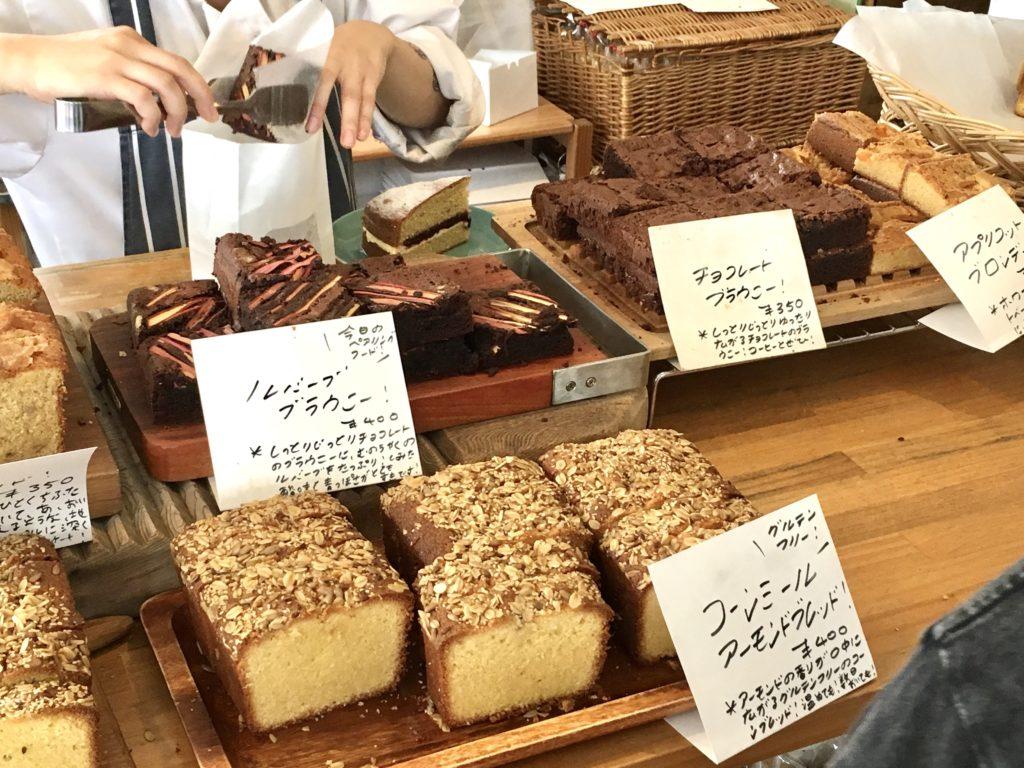 サンデーベイクショップ 初台 焼き菓子 イートイン メニュー パウンドケーキ お菓子 ドリンク