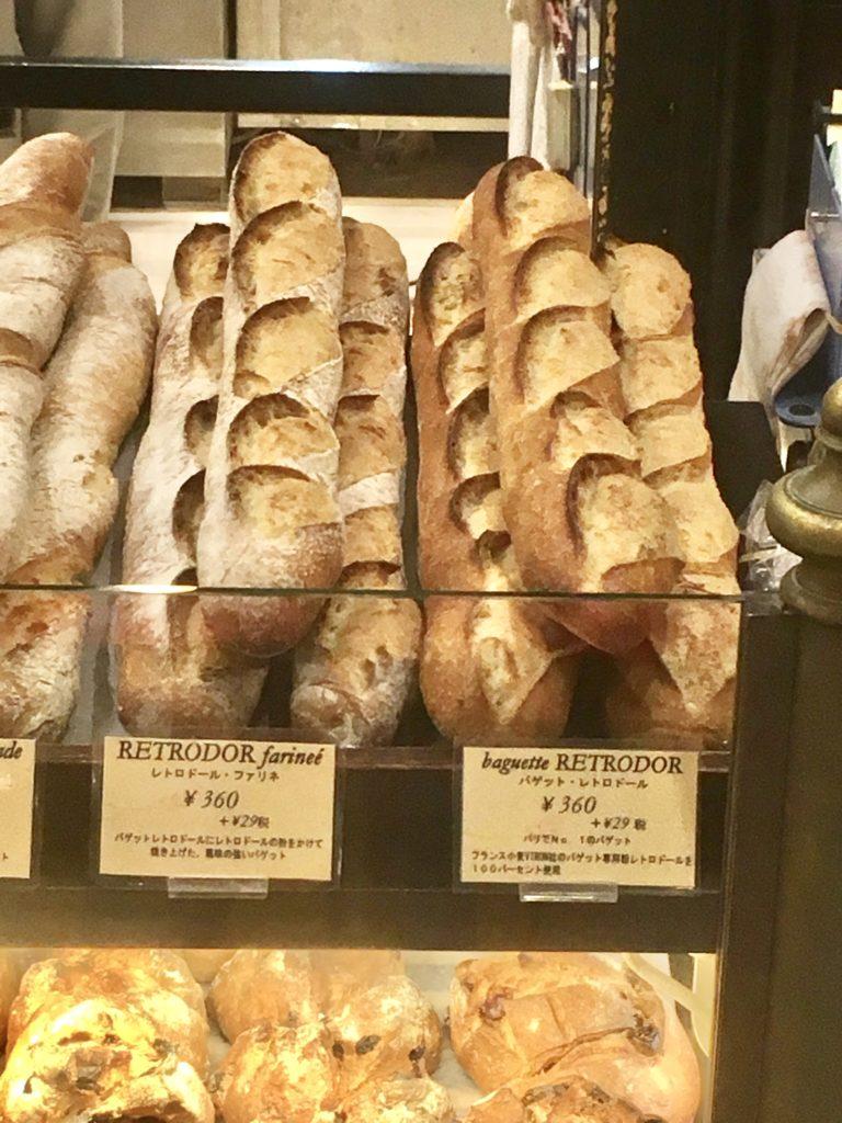 VIRON ヴィロン 渋谷 丸の内 パン バゲット レトロドール