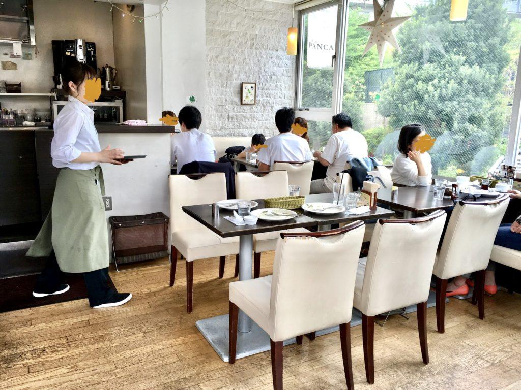 代官山 クローバーズ パンケーキ カフェ