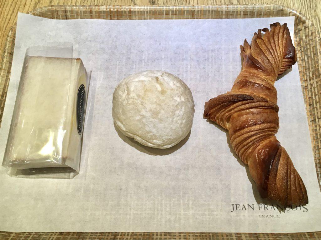 ジャンフランソワ 渋谷 パン マークシティ クロワッサン たまごサンド パンオクリーム