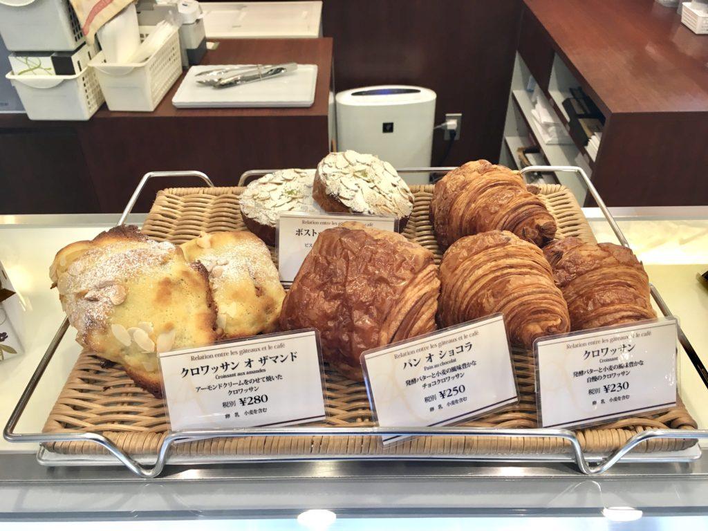 ルラシオン 芦花公園 クープ パフェ ケーキ コーヒー 焼き菓子 パン ヴィエノワズリー クロワッサン