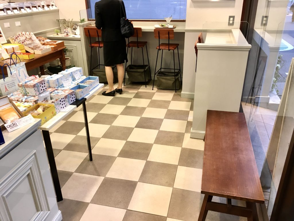 ルラシオン 芦花公園 クープ パフェ ケーキ コーヒー 焼き菓子 イートイン