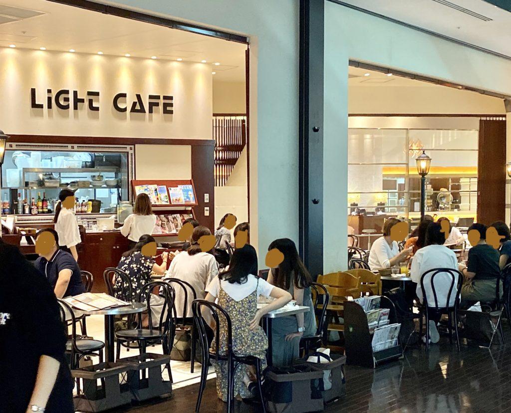 ライトカフェ 名古屋 スパイラルタワーズ パンケーキ カフェ