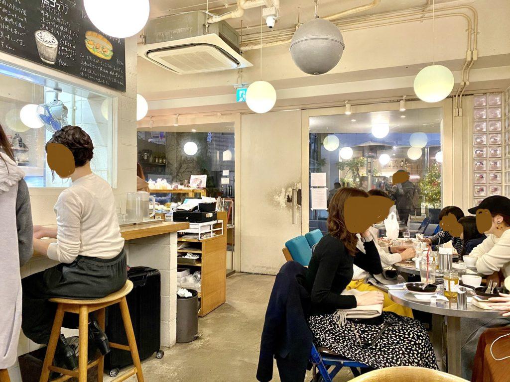 パンとエスプレッソと 表参道 原宿 フレンチトースト ムー 食パン イートイン テイクアウト カフェ アイスカフェモカ