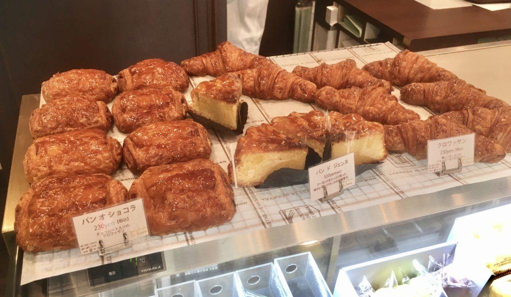 パティスリー ユウ ササゲ Patisserie Yu Sasage 千歳烏山 ケーキ おすすめ 焼き菓子 ヴィエノワズリー クロワッサン パン