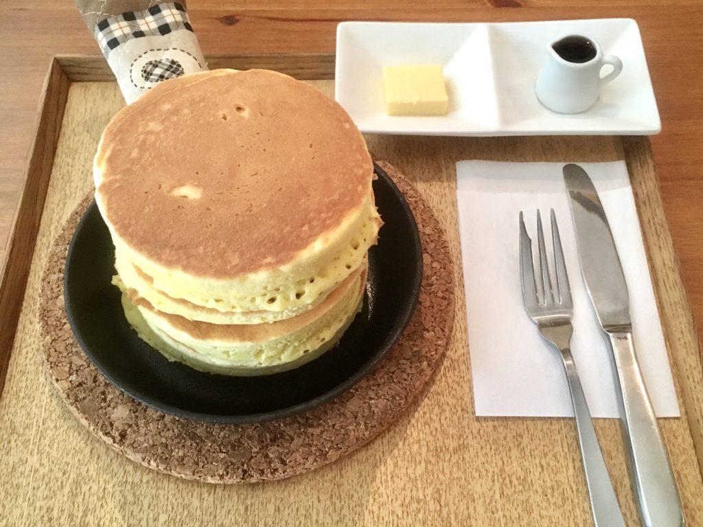 カフェルプティボヌール 調布 ホットケーキ パンケーキ