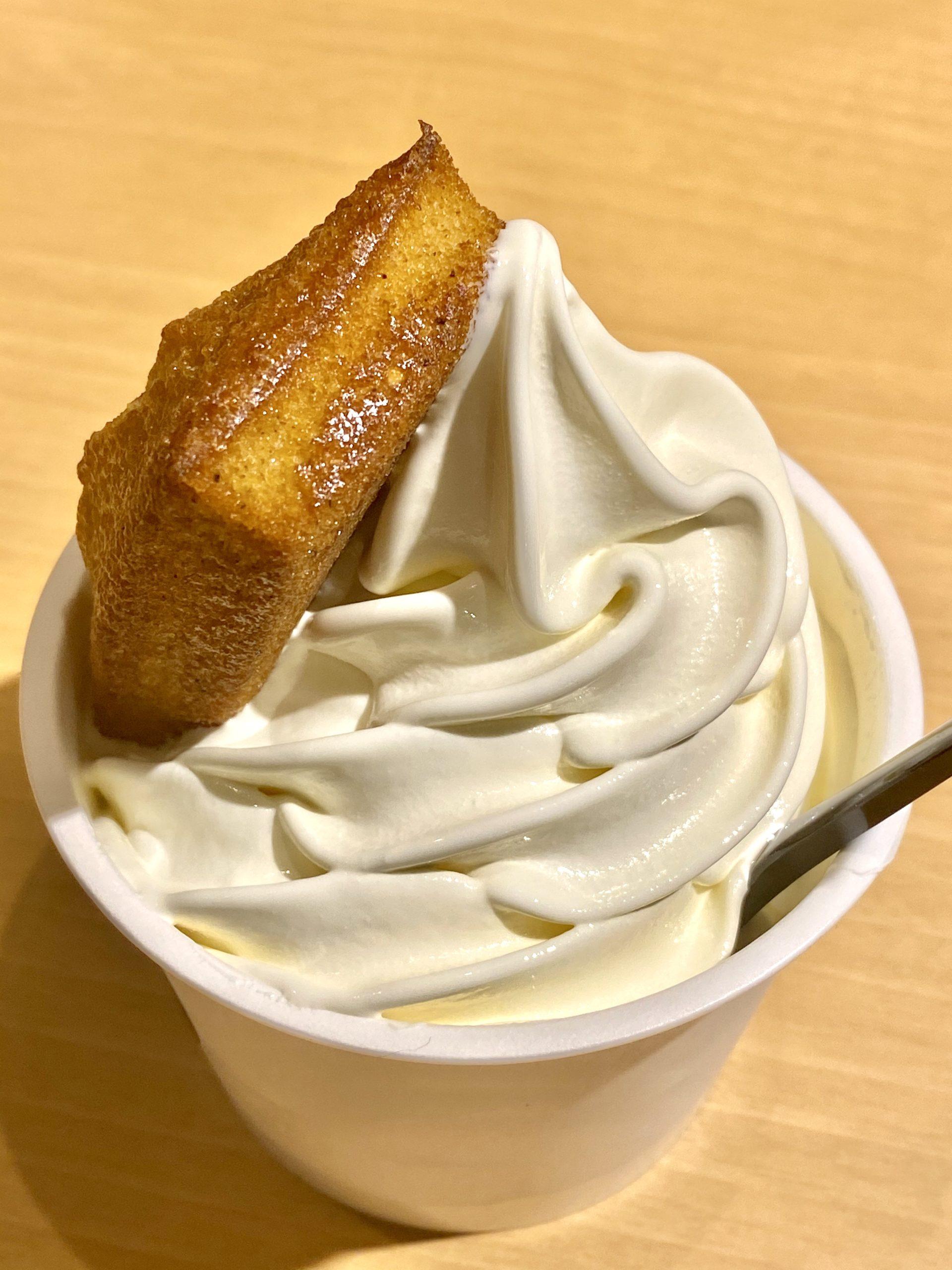 やつどき YATSUDOKI 新宿御苑前 発酵バターソフト&焼き立てフィナンシェ スイーツ ソフトクリーム