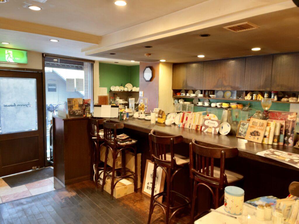 スプーンハウス 明大前 喫茶店 カフェ ホットケーキ プレーン レトロ 純喫茶 コーヒー