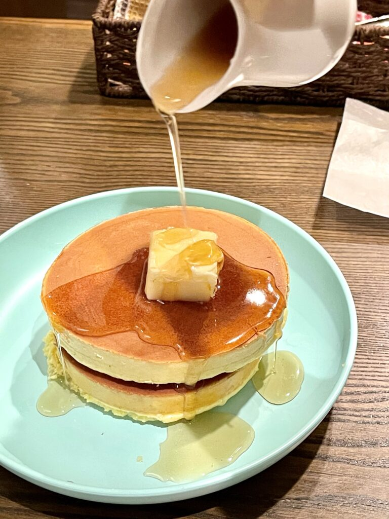 スプーンハウス 明大前 喫茶店 カフェ ホットケーキ プレーン レトロ 純喫茶